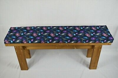 Handmade Wooden Kitchen Dining Bench And Cushion • 68£