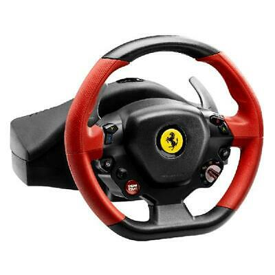 $126.35 • Buy Racing Steering Wheel Xbox One Ferrari Video Driving Game Controller Pedal Set