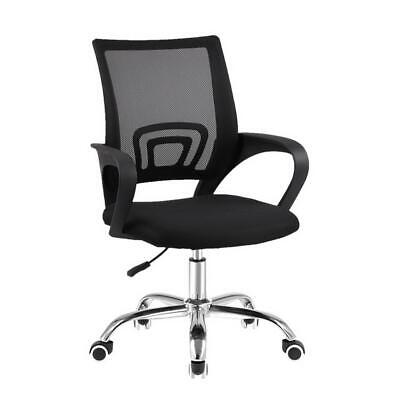 AU110.95 • Buy Artiss Office Chair Gaming Chair Computer Mesh Chairs Executive Mid Back Black