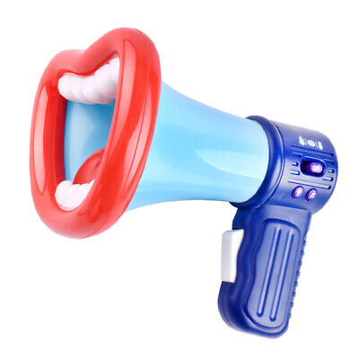 Voice Changer Toy Trumpet Recording Smart Microphone For Toddlers Funny Blue • 9.24£