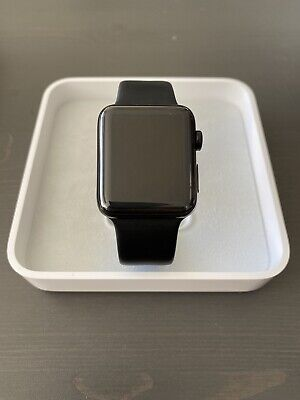 $ CDN260.78 • Buy Apple Watch Series 2 42mm Space Black Stainless Steel - Black Sport Band