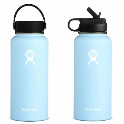 $37.87 • Buy Thermal Bottle Frost Hydro Flask Stainless Steel Insulated Wide Mouth Travel Cap