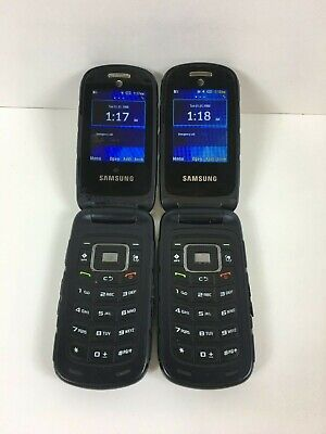 $ CDN106.04 • Buy Lot Of 2 - Samsung Rugby 4 SM-B780 - Black (AT&T) Rugged Flip Phones
