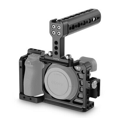 $ CDN84.23 • Buy SmallRig Camera Cage Kit For Sony A6500 ILCE-A6500 With Top Handle Grip & Clamp