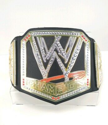 $15.07 • Buy 2012 Mattel WWE WWF Kids Replica Championship Belt Roleplay Cosplay Champion EUC
