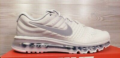 $124.99 • Buy Nike Air Max 2017 Pure Platinum Wolf Grey Running Training 849559 009 Pick Size