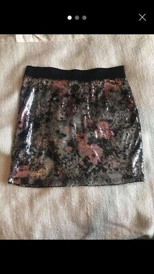 Sequin Mini Skirt Size 10 From ASOS Excellent Condition • 3.60£