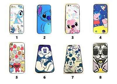 Cute Cartoon Super Mario Sesame Street Disney Lilo Stitch Case  Apple IPhone • 3.99£