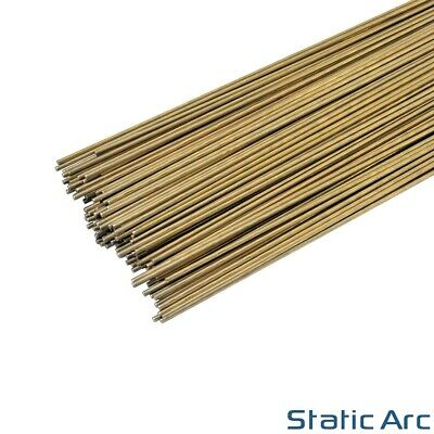 SILICON BRONZE C9 TIG BRAZING FILLER RODS STICK WIRE 300mm LENGTH 1.6/2.4/3.2mm • 4.99£