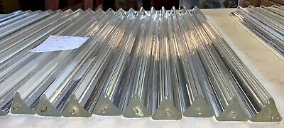 $74.99 • Buy Vintage Chandelier Prism Lucite Acrylic Angle Cut Triangular 23  Lot Of 18 ICG
