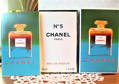 $185 • Buy ANDY WARHOL CHANEL No.5 EDP LIMITED EDITION (Green) 1.7oz-50ml NEW Very Rare!