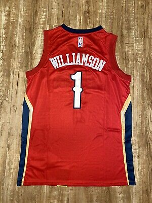 $34.99 • Buy Zion Williamson New Orleans Pelicans Jersey (Red)