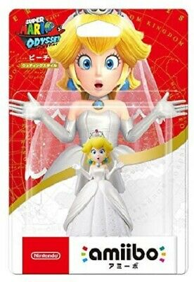 AU32 • Buy Peach Wedding Outfit Amiibo Super Mario Odyssey Series Nintendo Switch Wii U 3DS
