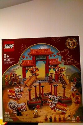 $105 • Buy LEGO Chinese New Year Lion Dance (80104) Limited Edition