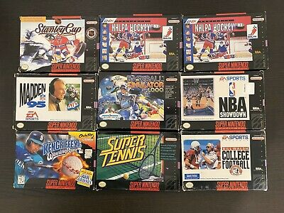 $ CDN199.99 • Buy Snes Boxed Game Lot Of 9