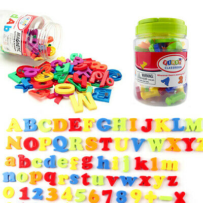 78PCS Xmas Magnets Gift Fridge Magnetic Alphabet Letters Numbers Learning Toy • 6.75£