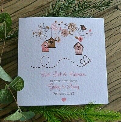 £3.99 • Buy Personalised Handmade New Home Card 6  Square