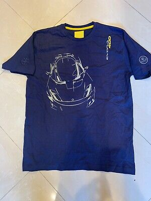$ CDN18.26 • Buy Lotus Evora 400 Men's T-Shirt Dark Blue Size Medium NWT