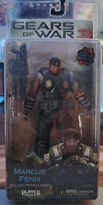 $40 • Buy Gears Of War 3 Series 1 MARCUS FENIX 7  Action Figure Retro Lancer NECA GOW