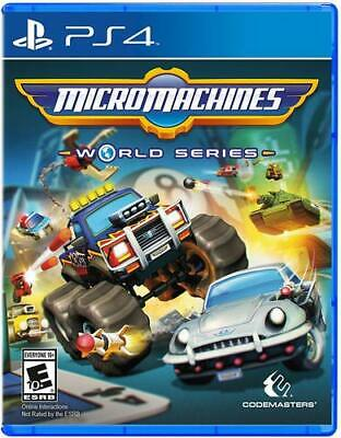 AU89 • Buy Micro Machines World Series Sony PS4 Family Kids Fun Racing Game Playstation 4