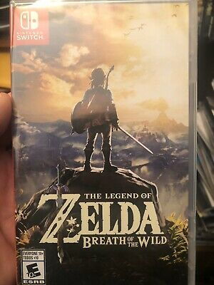 $42 • Buy New And Sealed Legend Of Zelda: Breath Of The Wild (Nintendo Switch, 2017)