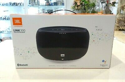 AU159 • Buy Brand New - JBL Link 300 Voice Activated Wireless Speaker In Black