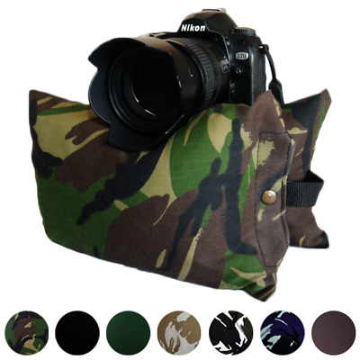 £16 • Buy Camera Bean Bag Support For Nikon Canon DSLR Telephoto Lens STANDARD SIZE