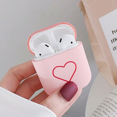 $ CDN5.57 • Buy Earphone Accessories For Apple Airpods Hard PC Case Love Heart Protective Cover