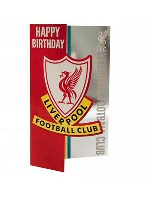 Liverpool FC Birthday Card  Official Club Merchandise Gift • 3.99£