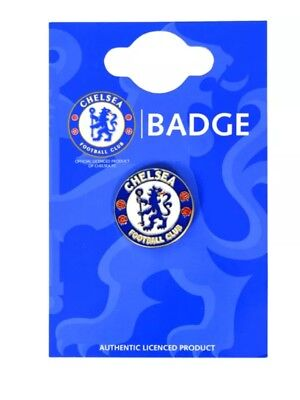 £4.99 • Buy Official Chelsea Fc Club Enamel Crest Pin Badge Football Club Gift Fathers Day