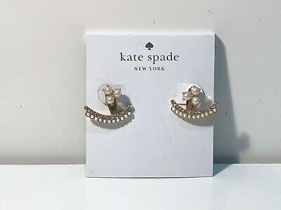 $ CDN30.37 • Buy Kate Spade New York Creammulti Dainty Sparklers Earrings (3.5)