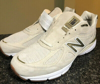 $114.99 • Buy New Balance 990v4 Made In USA Beige Gold Suede Men's Running M990AG4 Size 16