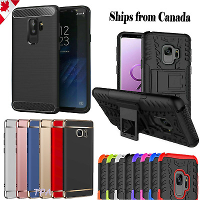 $ CDN6.99 • Buy For Samsung Galaxy S9 S8 / Plus Case Heavy Duty Hard Shockproof Screen Protector