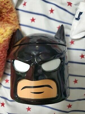 Loot Crate Lego Batman Zak! Food Storage Container Cookie Jar Minifigure Head • 5.79£