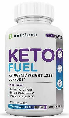 $15.99 • Buy KETO FUEL Advanced Weight Loss Diet From Shark Tank Keto Pills NUTRIANA