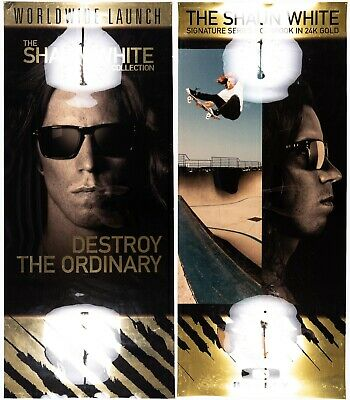 $299.97 • Buy Oakley Display Posters Shaun White Gold Foil RARE Holbrook Frogskins C Six Mars