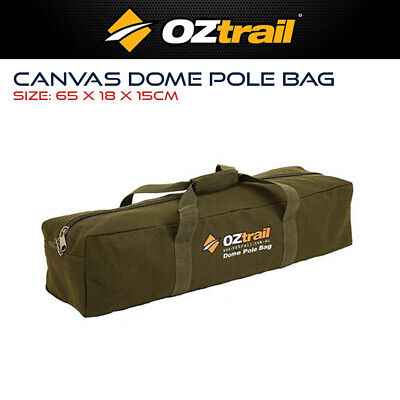 AU35.99 • Buy Oztrail Canvas Dome Pole Bag Camping Tent Swag Carry Carrybag Storage