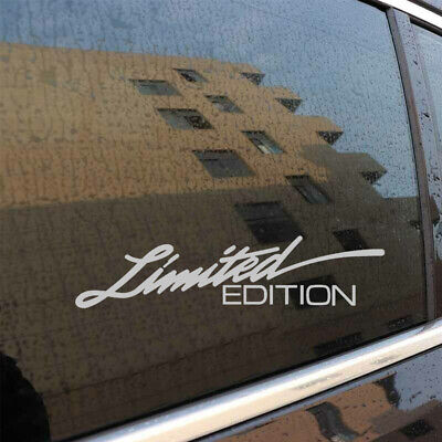 $0.99 • Buy LIMITED EDITION Letter Decal Scatch Auto Car Window Body Bumper Sticker