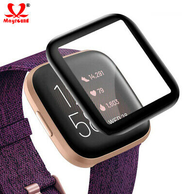 $ CDN3.89 • Buy [5 Pack] 3D Curved Flexible Film Screen Protector For Fitbit Versa & Versa Lite