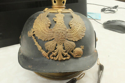 WW1 GERMAN PRUSSIAN PICKELHAUBE TIN  Helmet. • 1,350£