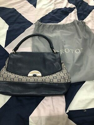 AU40 • Buy Oroton Navy Bag As New With Tags $345