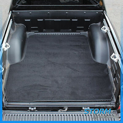 Load Bed Carpet Mat In Black For Nissan Navara Np300 2016 On Double Cab • 49.50£