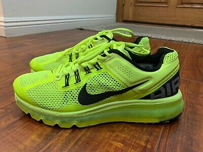 $58 • Buy 2017 Nike Air Max Volt Neon Green Size 8.5 Running Shoes