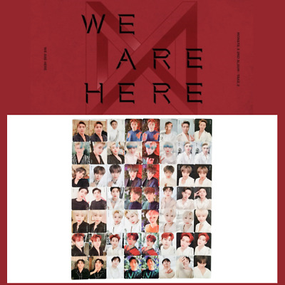 $ CDN10.91 • Buy MONSTA X - 2nd ALBUM TAKE.2 WE ARE HERE PHOTO CARD