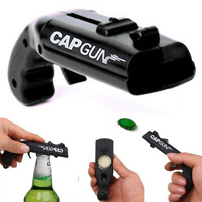 Gun Bottle Opener Beer Cap Plastic Shooter For Party Launcher Drinking Game • 3.09£