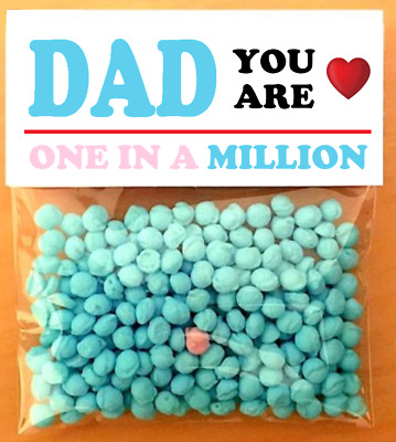 £4.80 • Buy FATHERS DAY GIFTS!!! YOU ARE ONE IN A MILLION Personalised Cute Card Gifts!