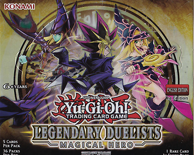 Legendary Duelists: Magical Hero - LED6 -Any 4+ Cards (50% Off!) - YuGiOh • 0.99£