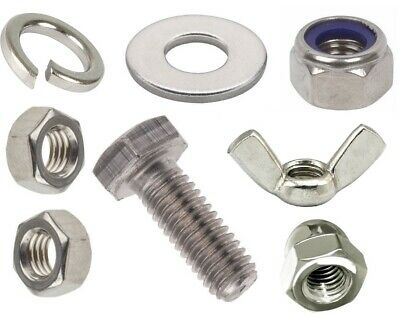 £3.28 • Buy M8 Stainless Steel Fasteners Choose Fully Threaded Bolts Screws, Nuts Or Washers