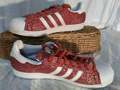 $ CDN45.64 • Buy Adidas Red Fox Mississippi State Bulldogs Exclusive Superstar Shoes Size 16 Rare