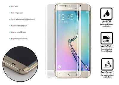 $ CDN5.10 • Buy 100% Genuine Tempered Curved Glass Film Screen Protector Samsung Galaxy S6 EDGE